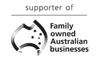 Supporter of Family Owned Australian Businesses