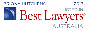 Best Lawyers - Briony Hutchens 2017