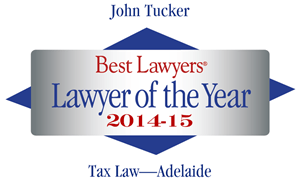 Best Lawyers - John Tucker - Lawyer of the Year 2015 logo