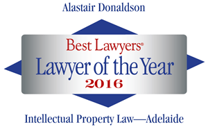 Best Lawyers - Sandy Donaldson - Lawyer of the Year 2016 logo